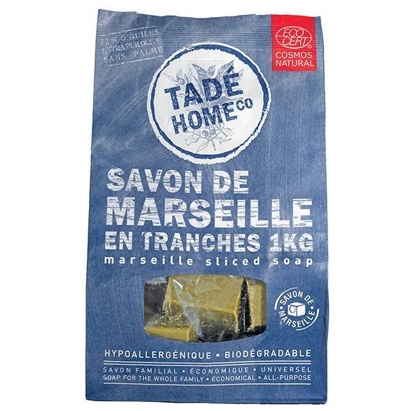 Savon de Marseille format familiale de 1kg - Emballage écologique
