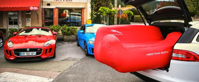 Canapé gonflable - Mobiliers gonflables personnalisables