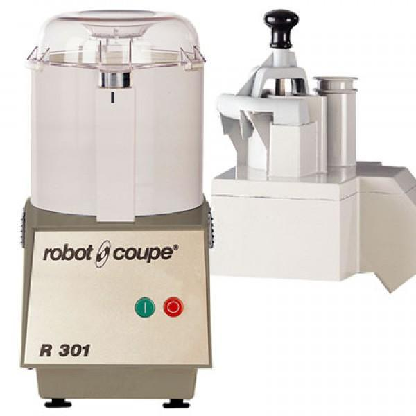 COMBINÉS : CUTTER & COUPE-LÉGUMES - R 301 - Combinés: cutter & coupe-légumes - ROBOT COUPE