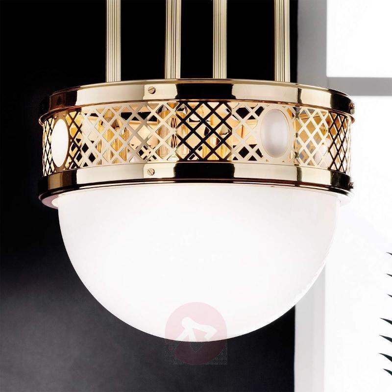 Alt Wien Hanging Light Wonderful Brass - Pendant Lighting