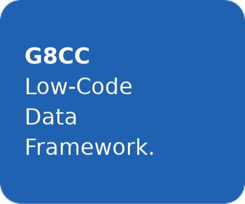 G8CC | Low-Code Data Framework. -