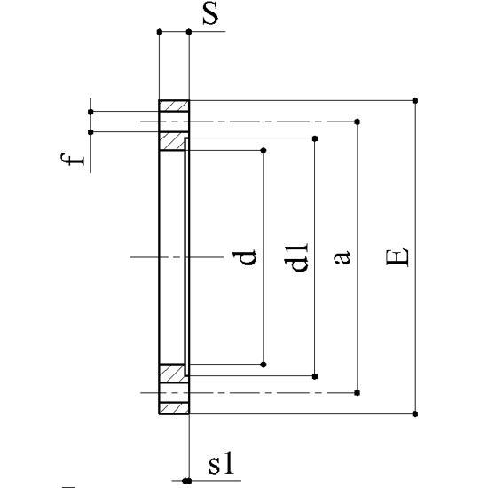 Flange libere ansi - Raccordi PVC