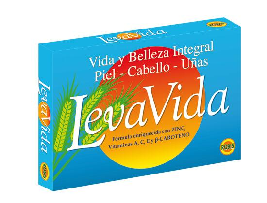 LEVAVIDA - Natural nutrients for the skin, hair, nails and eyes.