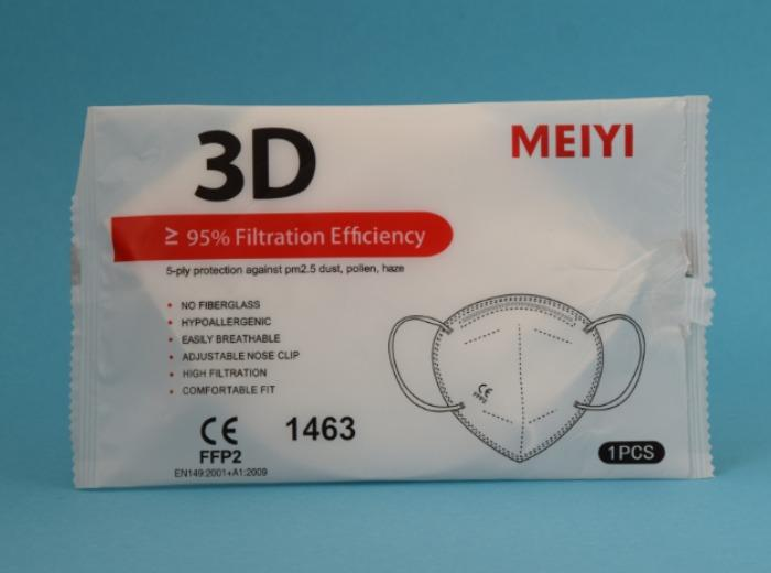 FFP2 Nr Meiyi CE-certified (my-002) - Starting from 0,22 €