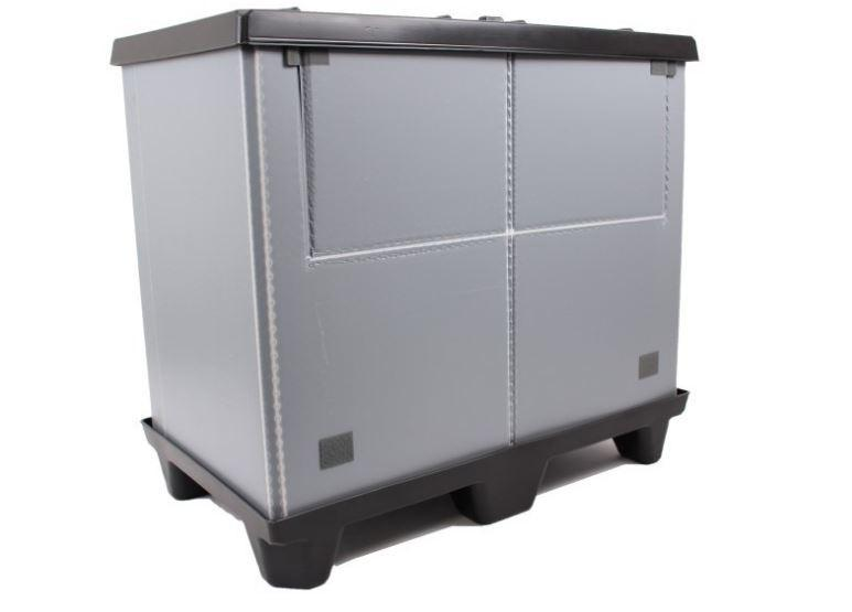 Large Folding Container: Mega-Pack 600 - Large Folding Container: Mega-Pack 600, 1000 x 600 x 900 mm