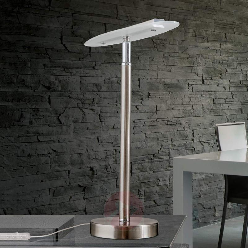 With a flexible light head - LED table lamp Sabira - Table Lamps