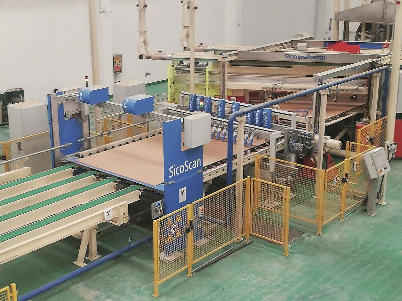 Cooling And Stacking Line For Thin-Board Production - null