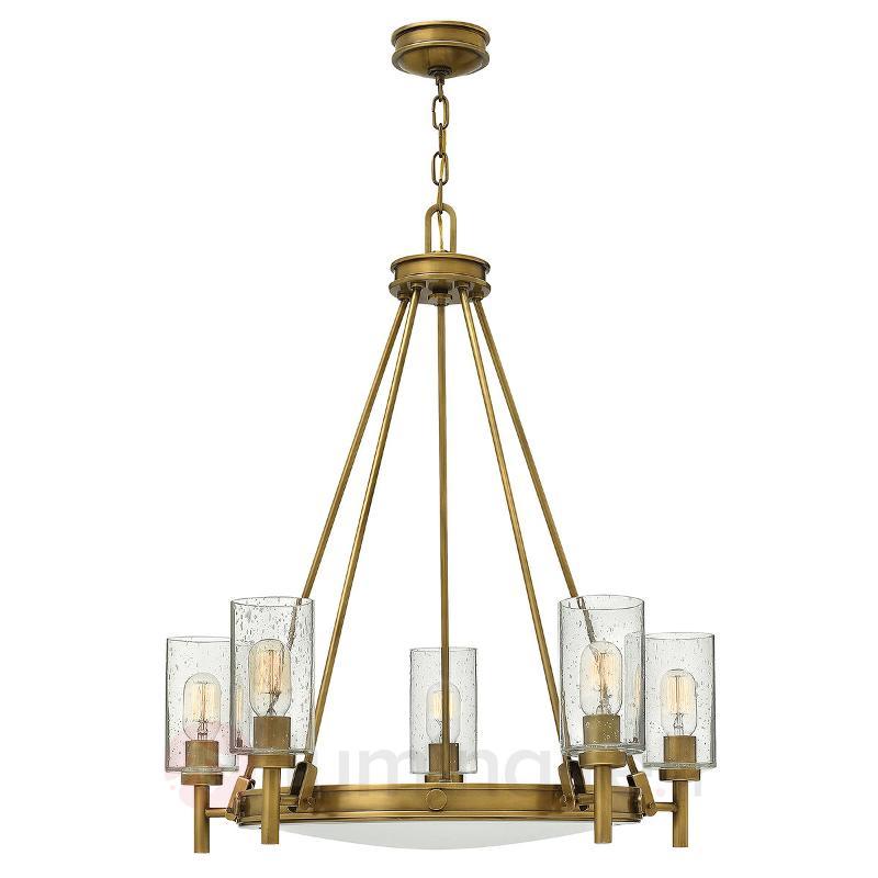 Lustre à cinq lampes Collier - Lustres classiques,antiques