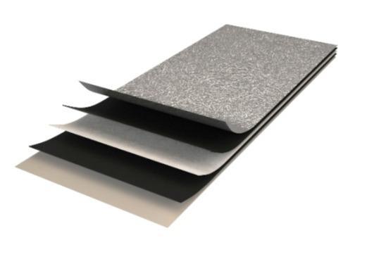 Строителни материали - Самозалепващо се алуминиево фолио с повърхностно покритие