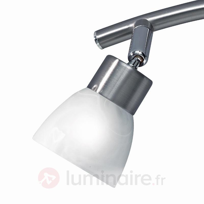Applique à 2 lampes Ela - Appliques chromées/nickel/inox