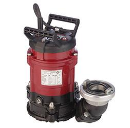 Submersible drainage pumps - FSP ® 400 W (horizontal suction pump for depths as little as up to 1 mm)