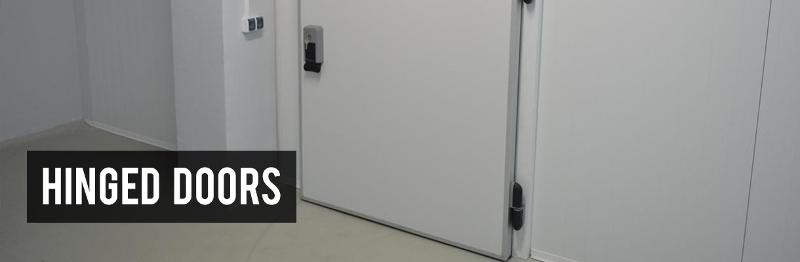 Cold room doors - Hinged doors