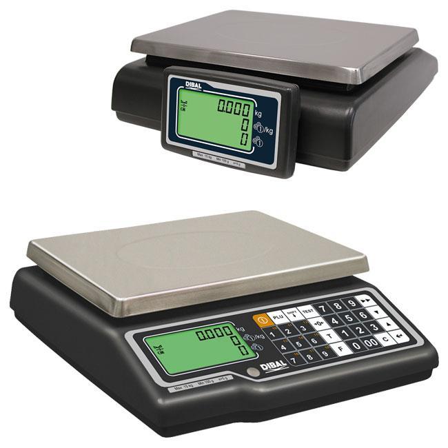 Serie G-325 - Balanzas de mostrador sin impresora