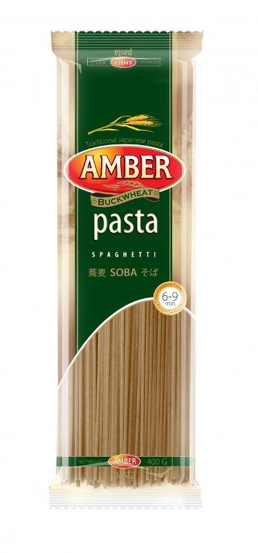 Buckwheat pasta - Amber Spageti Grikiniai