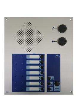 PC2005 P SX/DC - Interphonie professionnelle (PC - Pupitre d'interphonie à 5 directions - version platine
