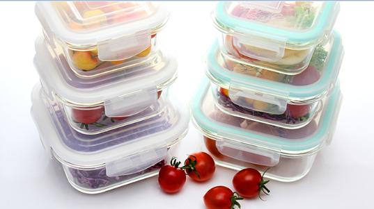 Glass Food Containers - null