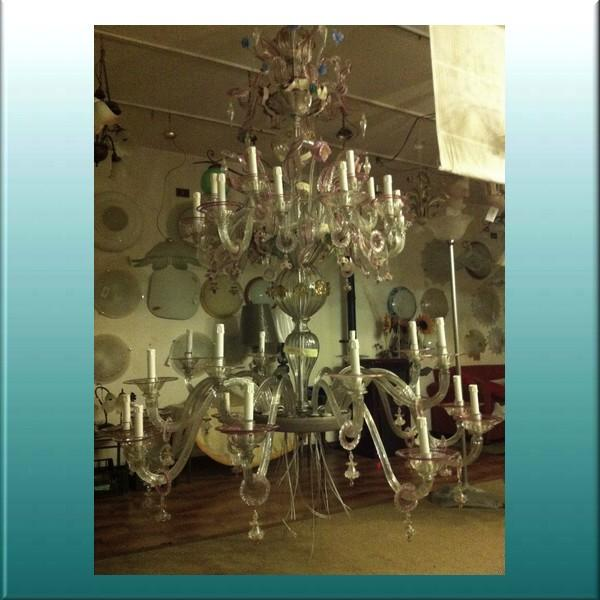 Murano Glass  - Lamps and Chandeliers Restoration