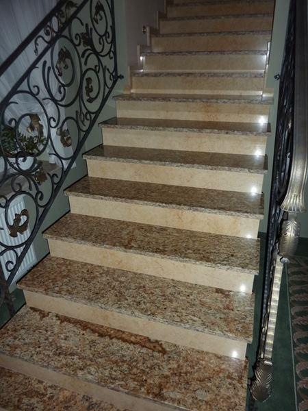 stone stairs - stairs, stone tiles
