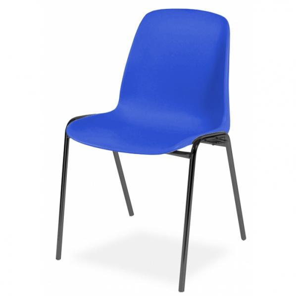 Chaise coque plastique accrochable