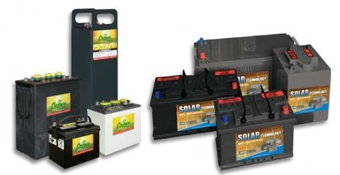 Batterijen - Solar technology batterijen