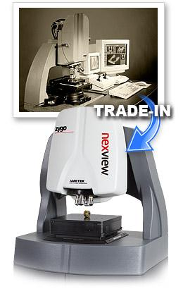 Trade-ins & Upgrades - Special trade-in offer for used metrology systems