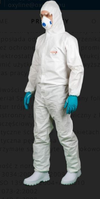 Schutzanzüge, -  Polnische Produktion