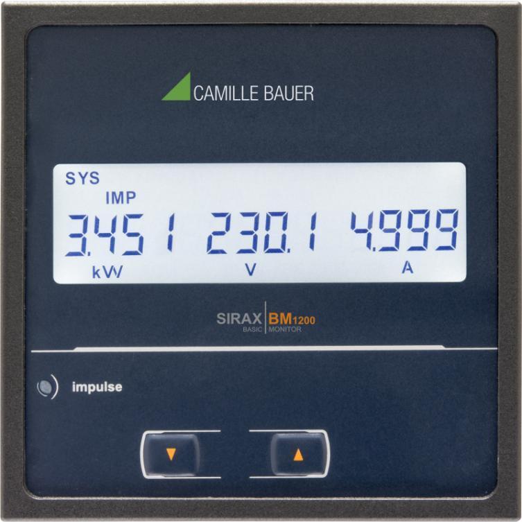 SIRAX BM1200 - Anzeiger mit LCD-Display