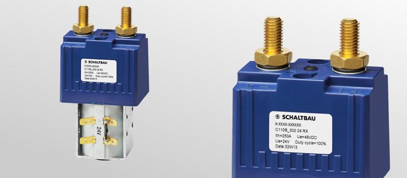 DC-Schließerschütze 1-polig - Schütze für Traktionsbatterien von Elektrofahrzeugen