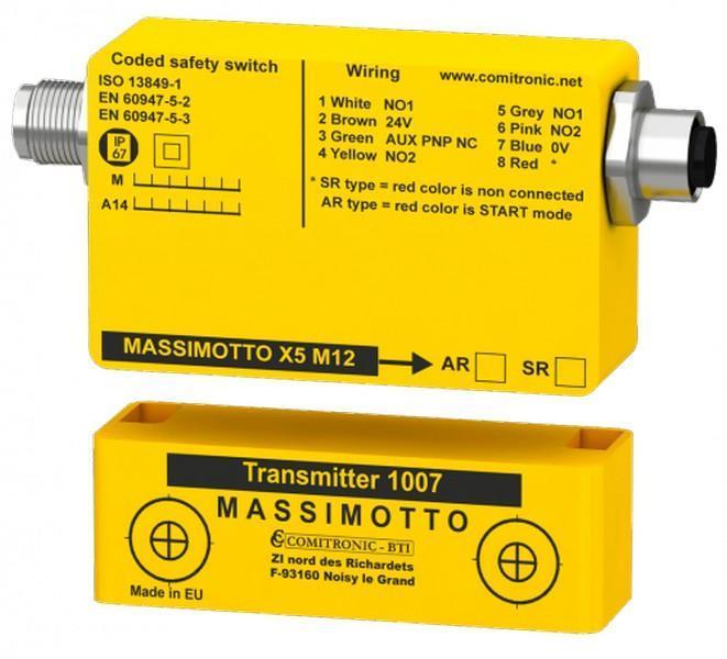 Contrôle la position des portes/carters de machines dangereuses - MASSIMOTTO ANA 78S.2 / 98S.2