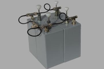 """Cavity Base Station Duplexers - VHF/UHF 5"""" Cavity Base Station Duplexers"""