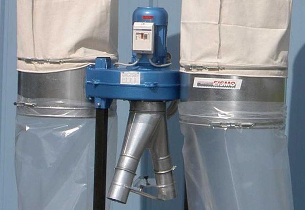 Aspirateur à copeaux 2300 m3/h - TURBO 2400