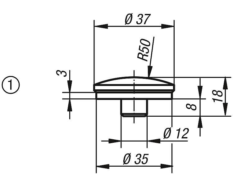 Screw Rest Inserts Spherical, Centring Disc, Prism, Locating... - Support elements
