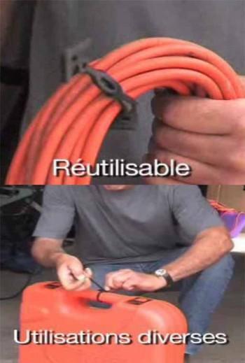 Attache élastique 140mm bricolage (vente en gros) - Attache élastique