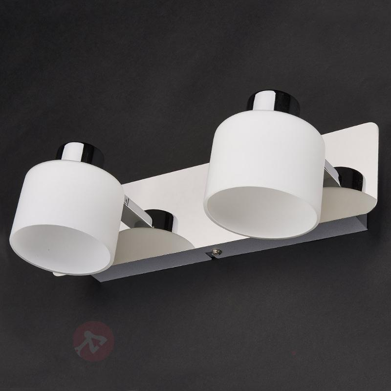 Applique LED Emira à deux lampes - Appliques LED