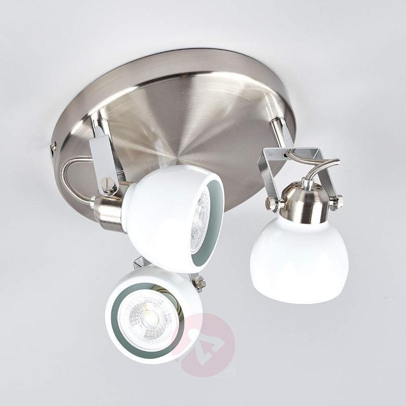 Nima - round LED ceiling light, GU10 - Ceiling Lights