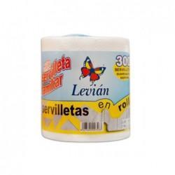 Servilleta LEVIAN en ROLLO 300 UND. S/8 - Servilletas