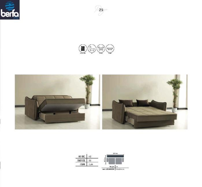 Sovekabine sofa Drew - Søvn sofa producenter