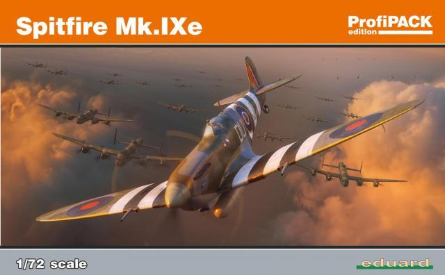 Modelisme Avion - Eduard 70123 Spitfire Mk.IX 1/72