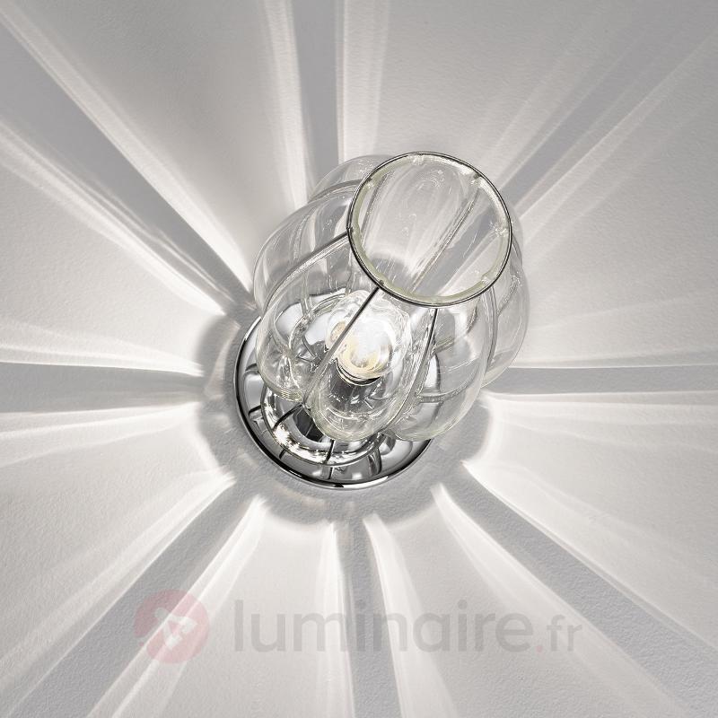 Lampe à poser Nautilus transparente - Lampes de chevet