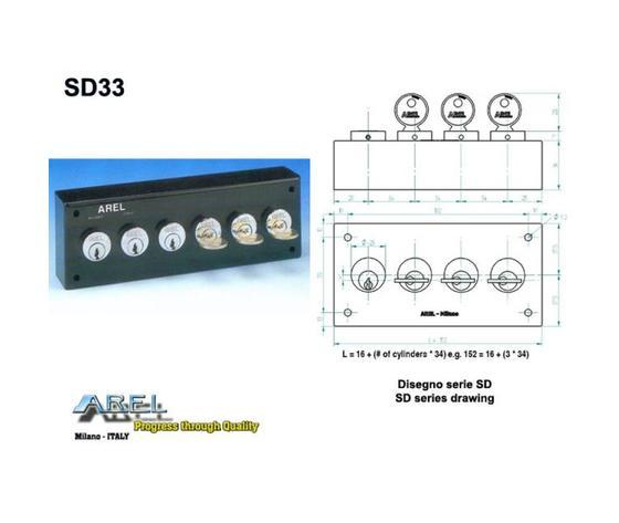 Distributori di Chiavi - Distributore chiave SD33