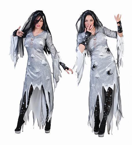 Costume sorcière grise - Décoration et déguisements pour Halloween