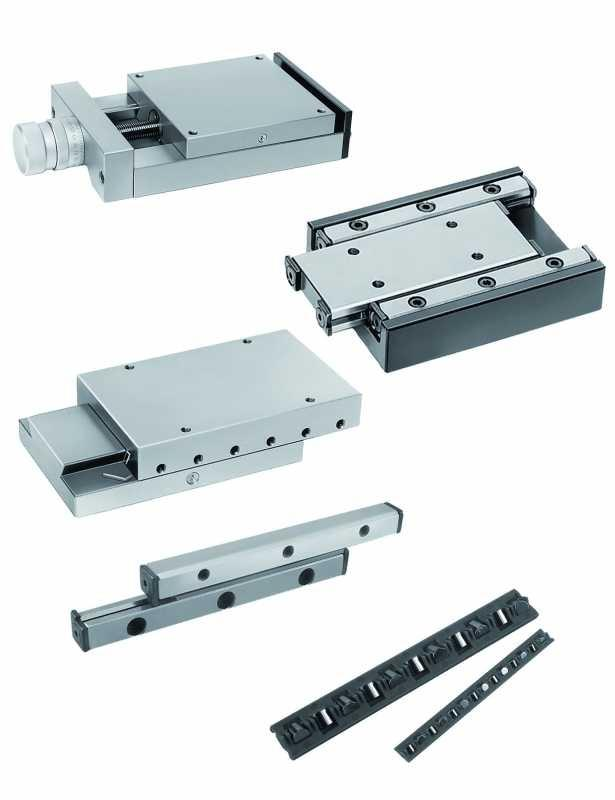 Dovetail slides with micrometer spindle - Dovetail slides with micrometer spindle. Aluminium EN AW-6063.