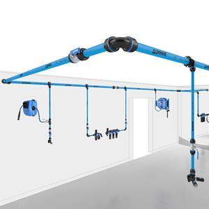 Réseau air comprimé - 100% aluminium - Prevost Piping System : Le concept 100% aluminium
