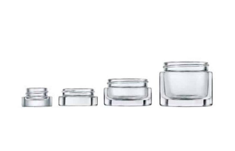 One Press Jars - Glass Jars