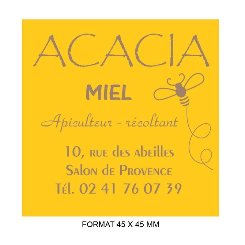 Étiquettes classique - Etiquette autocollante pour boutique