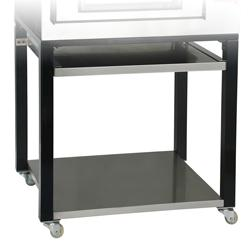 Pizzeria - stand on castors for pizza oven 5775g