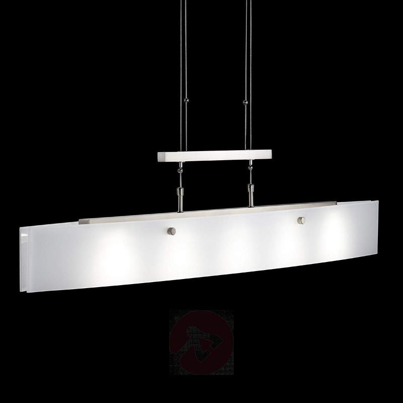 LED pendant lamp Shine Alu matt nickel - Pendant Lighting