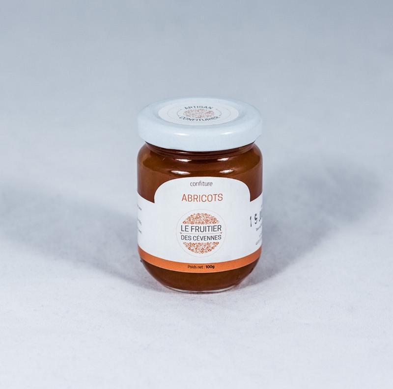 Confiture d'abricots aux amandes - Coulis artisanaux