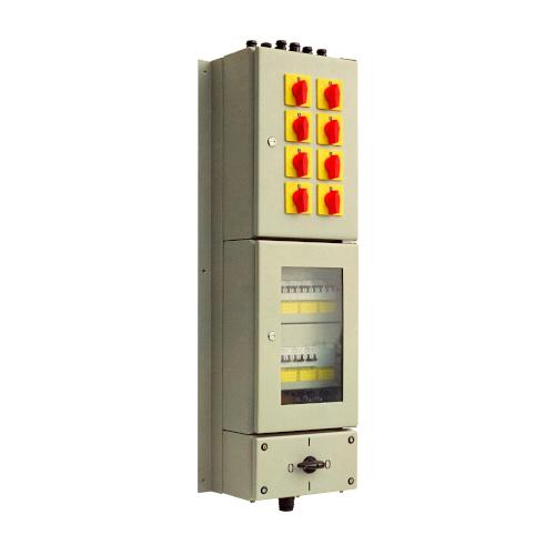 Switchgear for residential buildings -