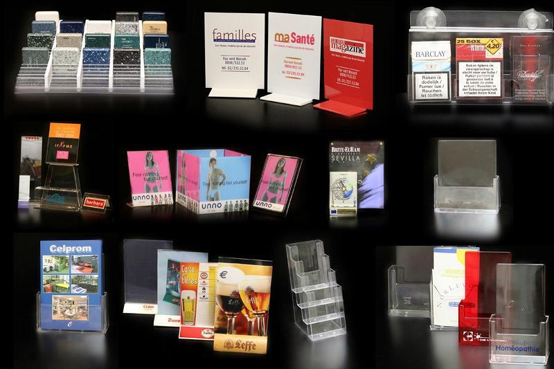 Ensembles - Signalétiques / Présentoirs - Stop-trottoir/Urnes - Displays